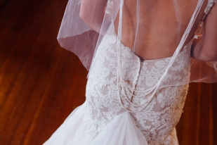 Sexy Low Backed Gown - A Styled Shoot by The Newport Bride