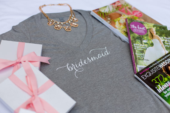 The Best Bridesmaids T's | The Newport Bride