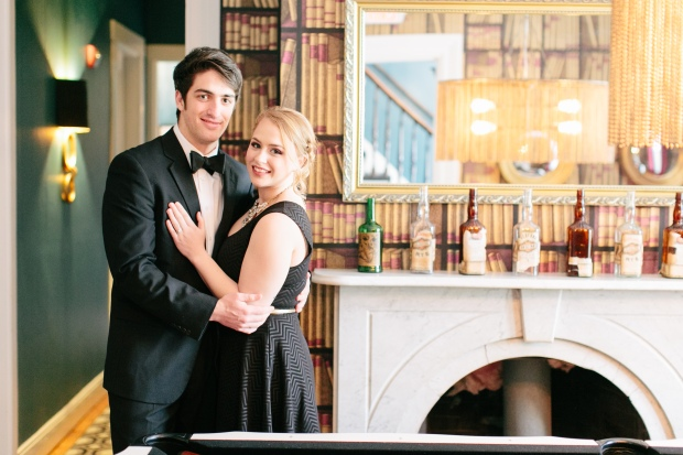 A Gilded Elopement | A Styled Shoot by The Newport Bride