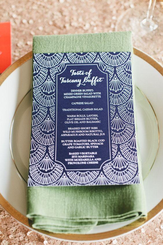 Art Deco Invitations | The Newport Bride