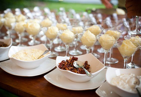 Mashed Potato Bar | The Newport Bride