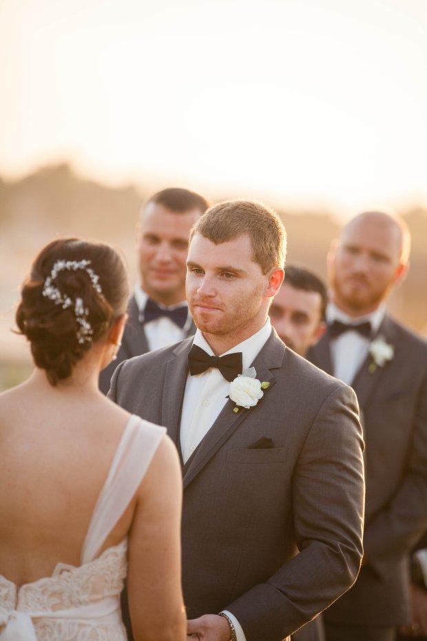 Stephanie and Tim's Atlantic Beach Club Wedding | The Newport Bride