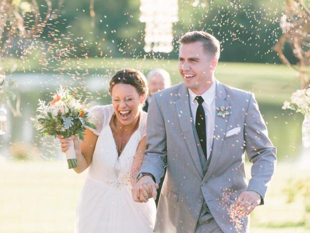 How to Make a Grand Exit | The Newport Bride