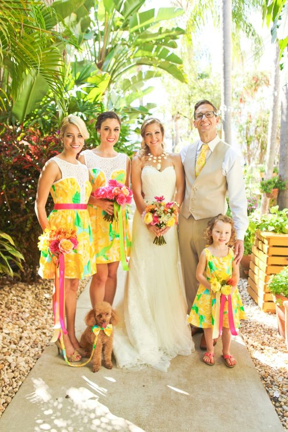 Lilly Pulitzer Wedding | The Newport Bride