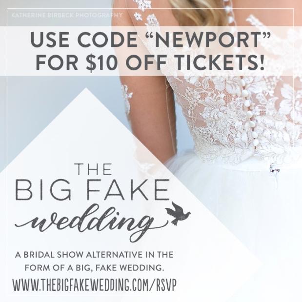 Big Fake Weding New England | The Newport Bride