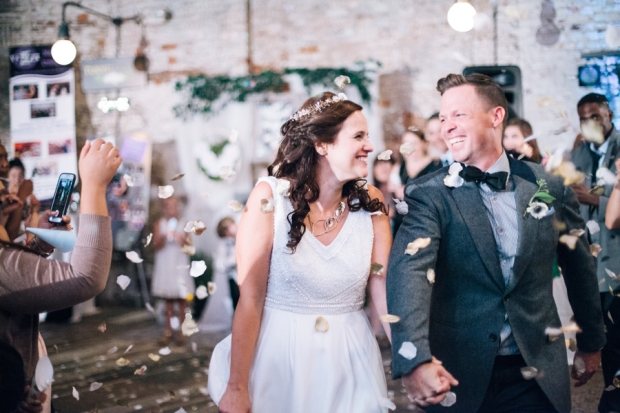 Petals for the getaway | The Newport Bride