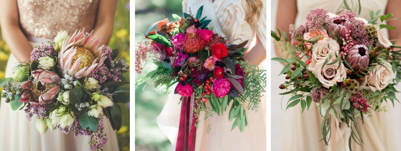 Your 3 Dream Fall Wedding Bouquets | The Newport Bride