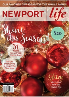 Subscription to Newport Life Magazine on The Newport Bride's Holiday Gift Guide | The Newport Bride