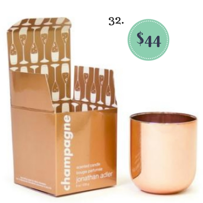 Champagne Pop Candle from Soap and Water Newport on The Newport Bride's Holiday Gift Guide | The Newport Bride