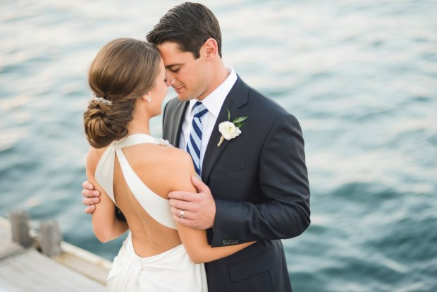 Molly and Nick's Regatta Place Wedding | The Newport Bride