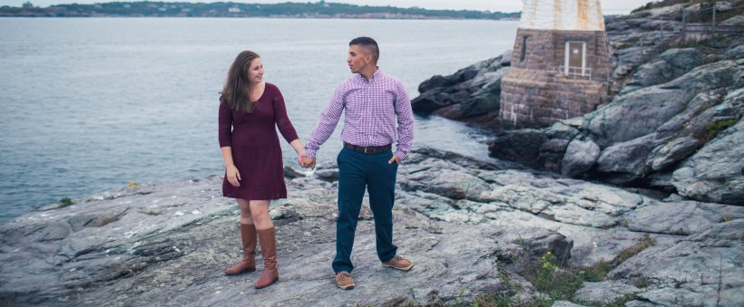Charlie and Lisa's Newport Engagement Shoot | The Newport Bride