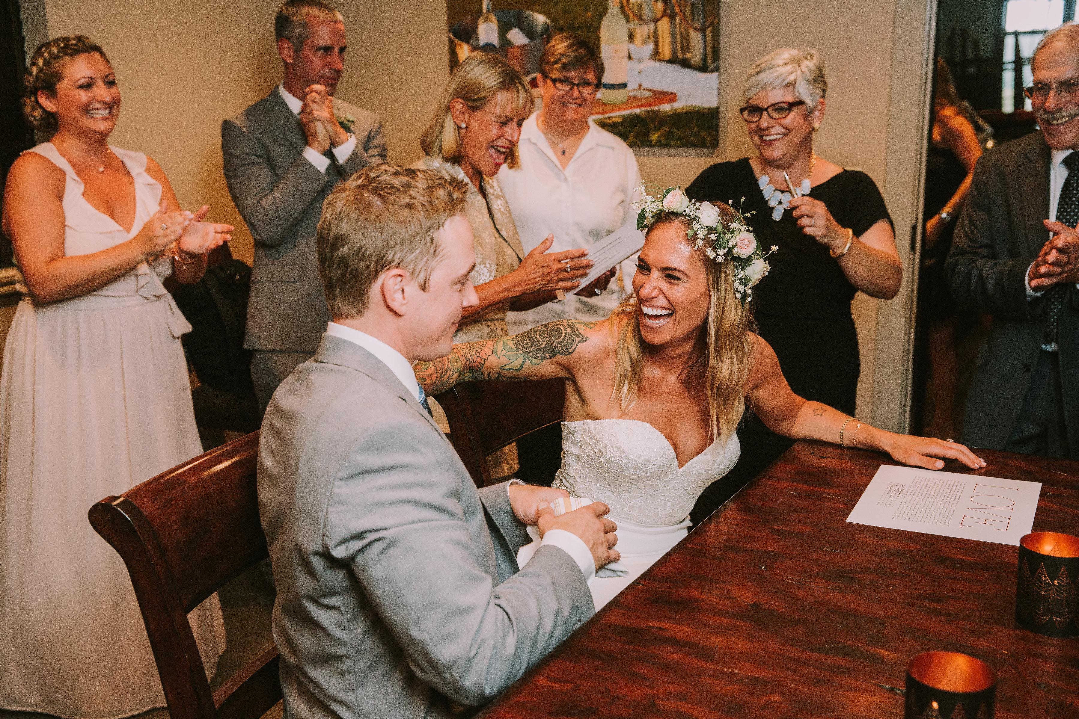 Whitney and Tylers Newport Vineyards Wedding The Newport Bride