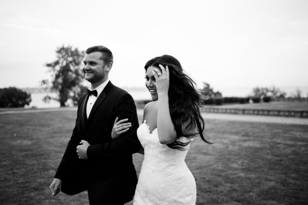 Julie and Evan's Ochre Court Wedding on The Newport Bride
