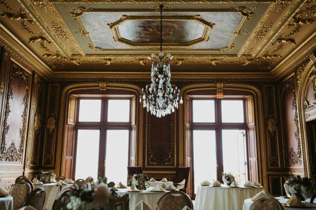 Missy and johns ochre court wedding on the newport bride