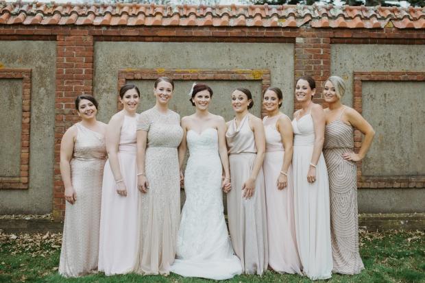 Missy and John's Ochre Court Wedding on The Newport Bride
