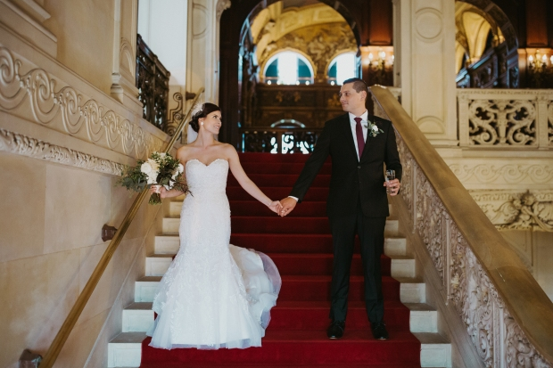 Missy and John's Ochre Court Wedding on The Newport Bride