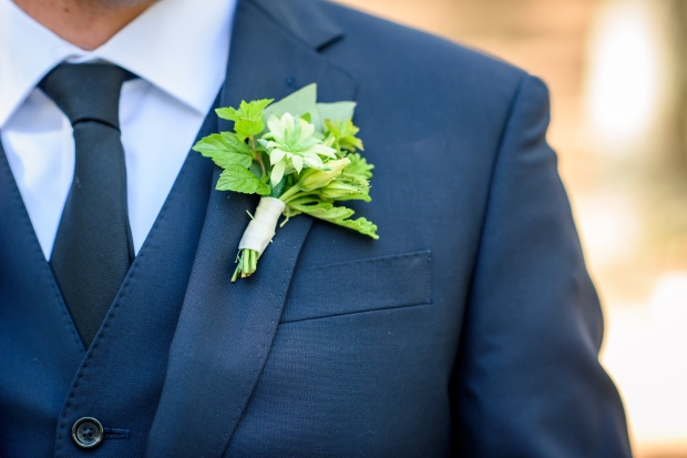 Kristina and Mike'd Romantic Woodsy Wedding