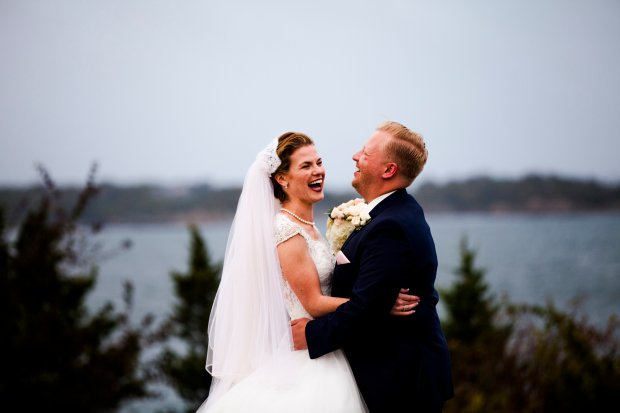 Julianne and Mike's Castle Hill Inn Wedding on The Newport Bride