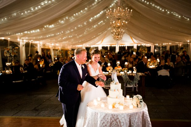 Julianne and Michael's Glamorous Newport Wedding