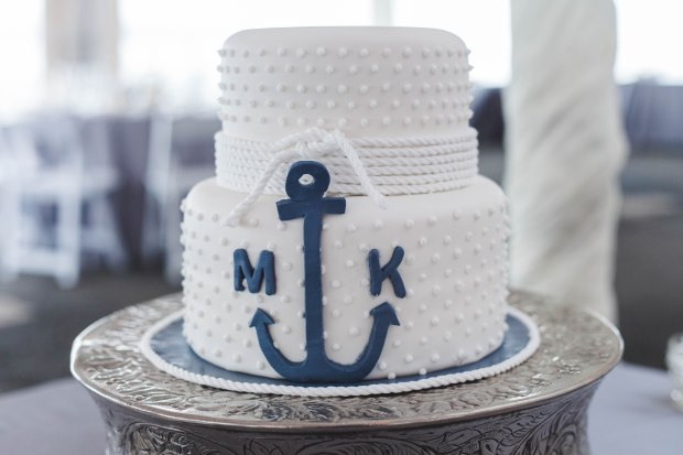Mike and Keri's Nautical Fall Wedding at the Herreshoff Museum