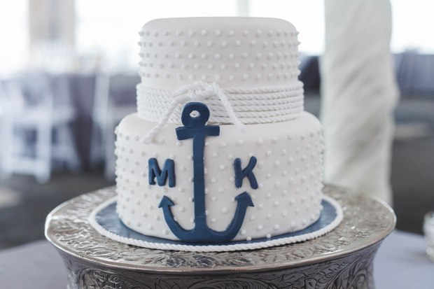 Mike and Keri's Nautical Fall Wedding at the Herreshoff Museum