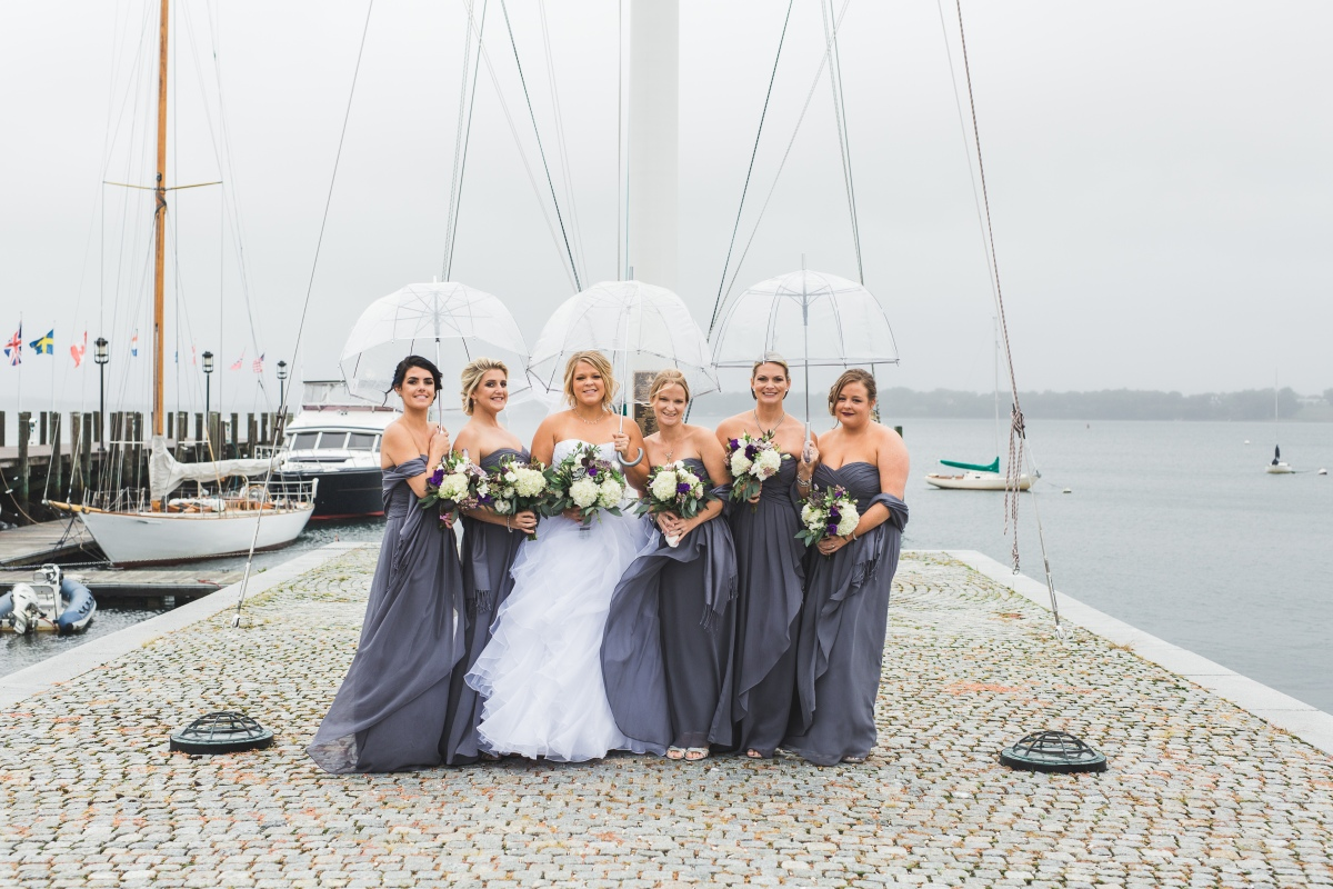 Nautical wedding the newport bride keri and mikes nautical fall wedding at the herreshoff marine museum ombrellifo Images