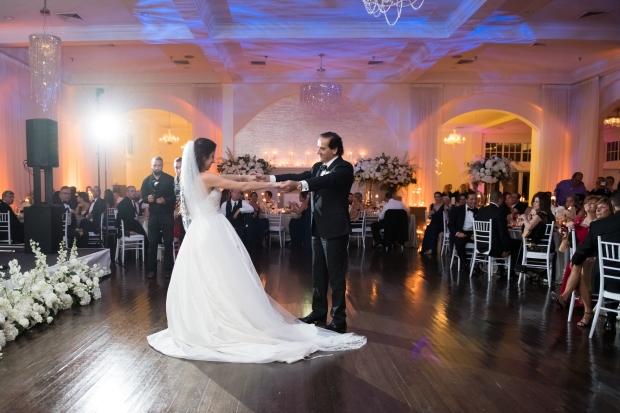 Elegant Metallic Winter Belle Mer Wedding at The Newport Bride