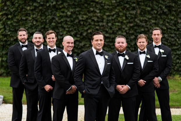 Elegant Metallic Belle Mer Wedding on The Newport Bride