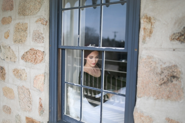 Bridal Tulle at the Spring House Hotel