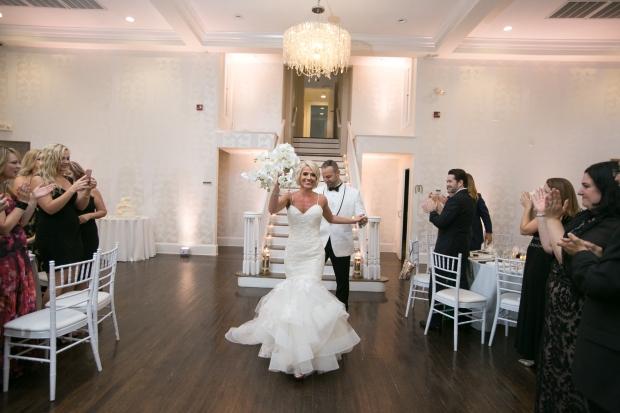 Kristin and Derek's Elegant Glittering Gold and Crisp White Belle Mer Wedding on The Newport Bride a Rhode Island Wedding Blog