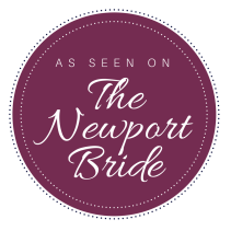 As Seen On The Newport Bride Badge