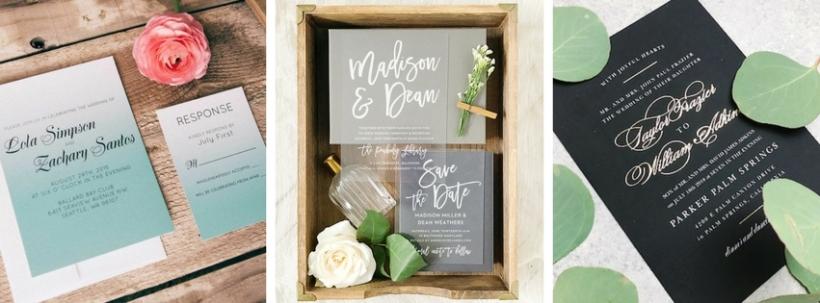 Wedding Invitation Designs: What's Trending? @BasicInvite shared their insider scoop!