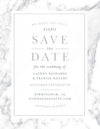 4 Invitation Design Trends on The Newport Bride