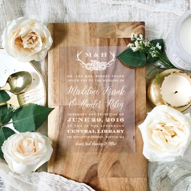 4 Invitation Trends for 2017 on The Newport Bride